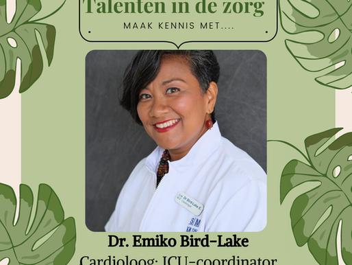 Dr. Emiko Bird-Blake, Talenten in de zorg!