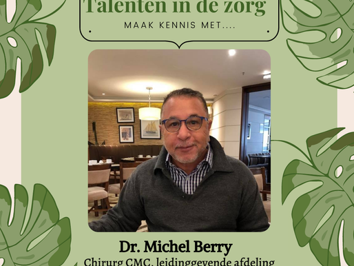Dr. Michel Berry. Talenten in de zorg!