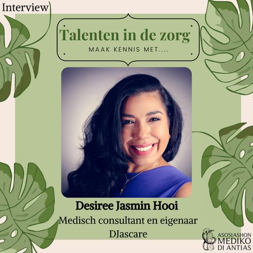 Desiree Hooi, Talenten in de zorg!