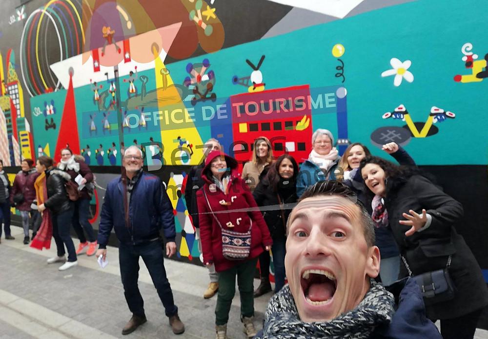 La team de l'office de tourisme de Béziers.