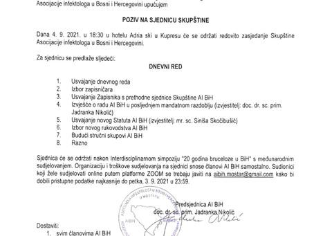 Poziv na izbornu Skupštinu AI BiH