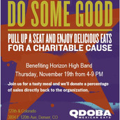 Qdoba Fundraiser 11/19 @ 120th & Colorado from 4pm to 9pm