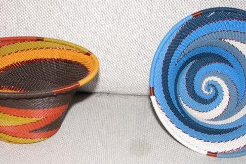 Zulu Small Round Cone Shaped Wire Basket