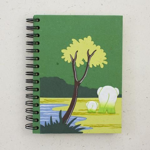 Fairgrass ElliePoo Large Notepad paper off white