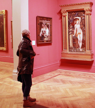 Manchester Art Gallery recce for Wonder Women