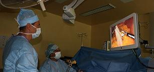 Opération bariatrique par laparoscopie