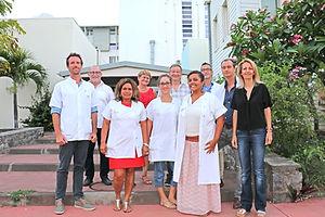 Equipe Reseau Optim Clinique Sainte Clotilde