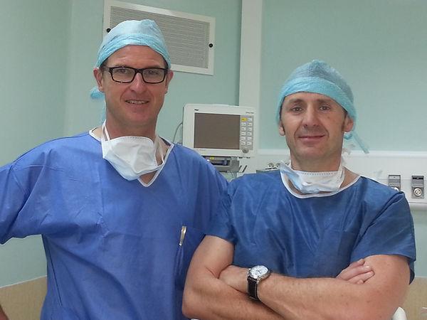 Docteur Menguy et Docteur Cazeres