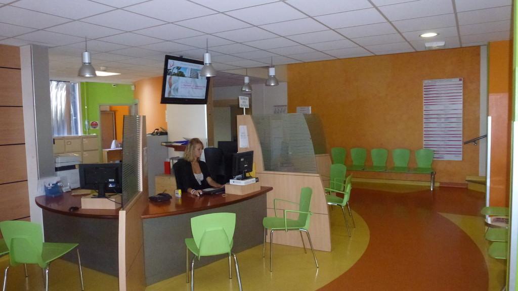 Accueil clinique Sainte Clotilde