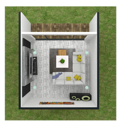 solar cabin ireland