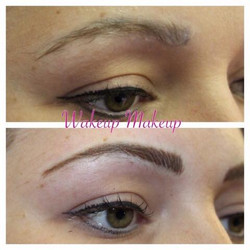natural hairline eyebrows