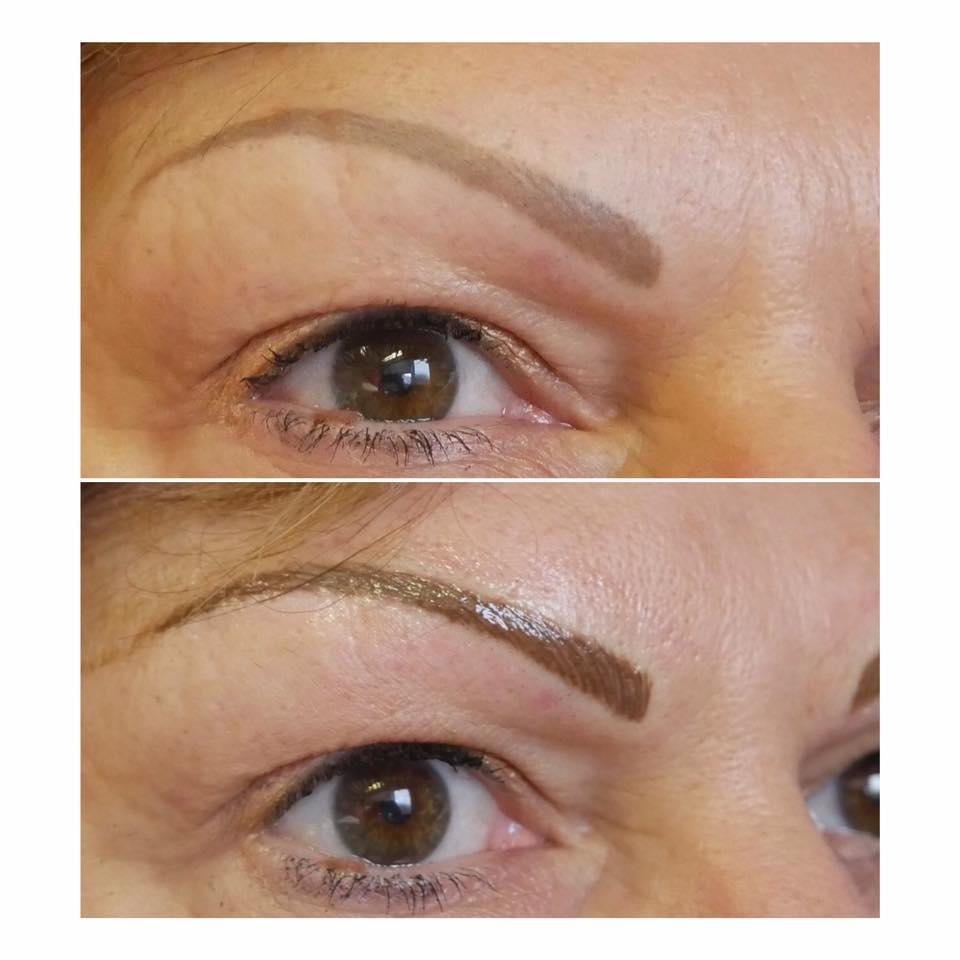 eyebrow topup