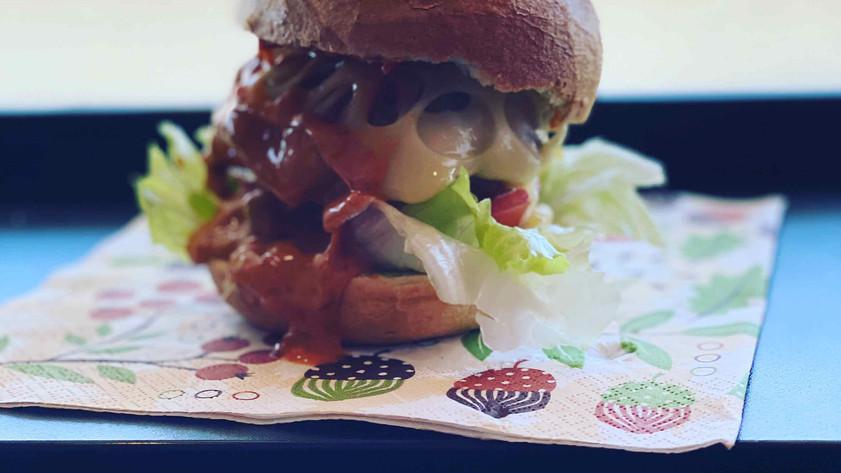 Wildbuletten-Burger