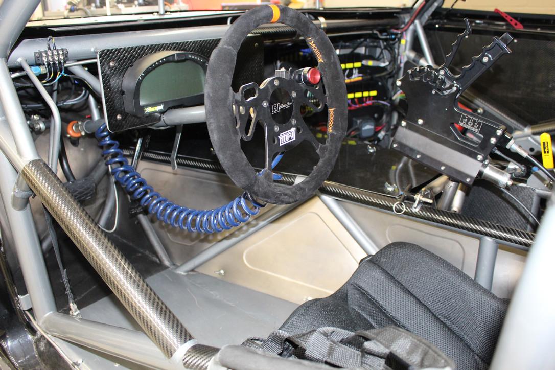 Inside Mike Stavrinos 69' Camaro