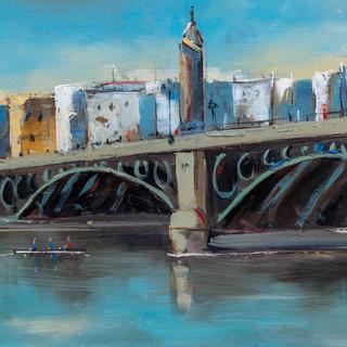 Puente_de_Isabel,_Seville_10x22%22_£850
