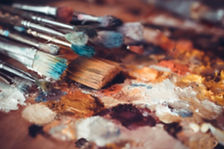 37739721-Paintbrushes-closeup-artist-pal