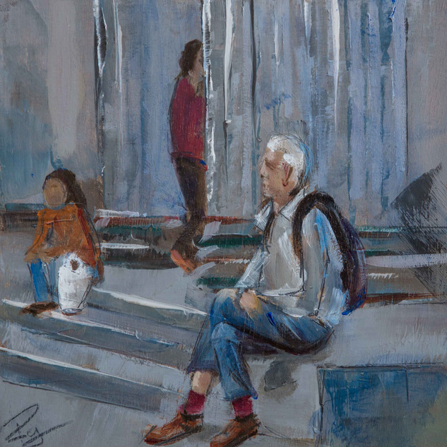 resting Seville 8%22x8%22 oil on board.j