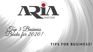 Top 3 Business Books for 2020!