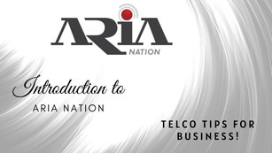Introduction to Aria Nation