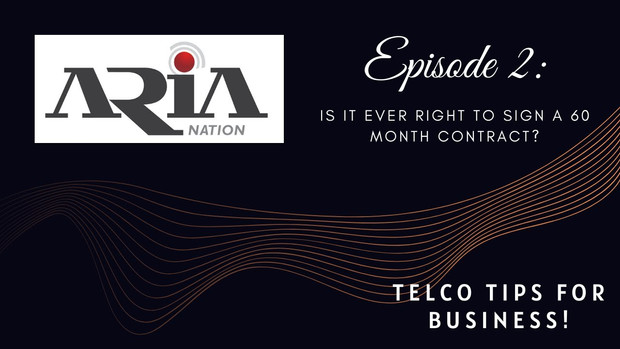 Telco Tips Episode 2: Is it ever right to sign a 60 month contract?