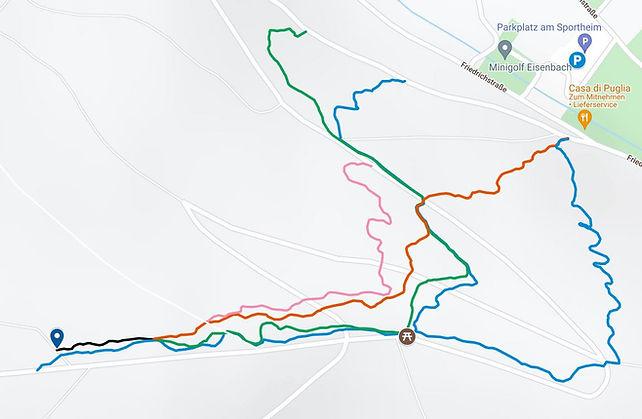 Olympiapark Karte
