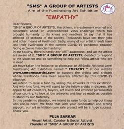 Aim of Fundrising Exhibition 2