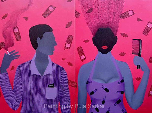 He and She by Puja Sarkar