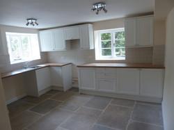 Kitchen flooring tiling