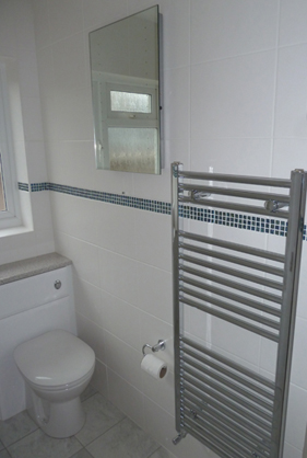 New heated towel rail