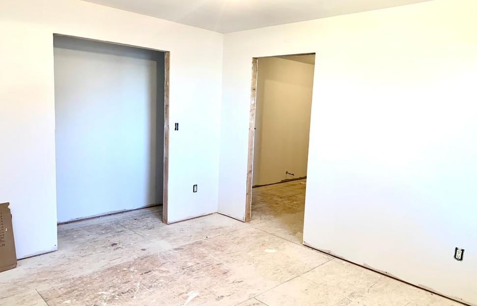 bedroom 1 towards bathroom and closet