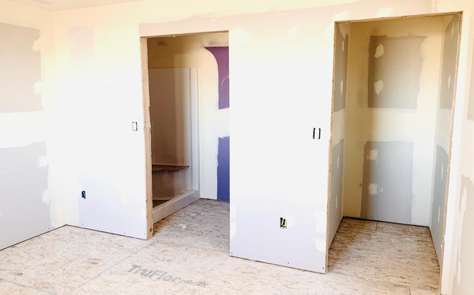 bedroom 2 closet and bathroom 2