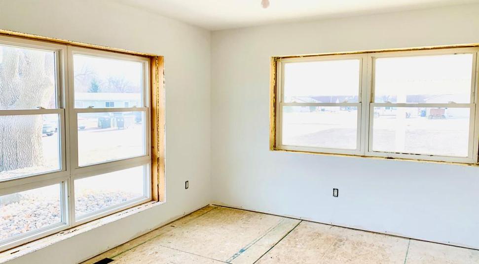 Bedroom 1 windows