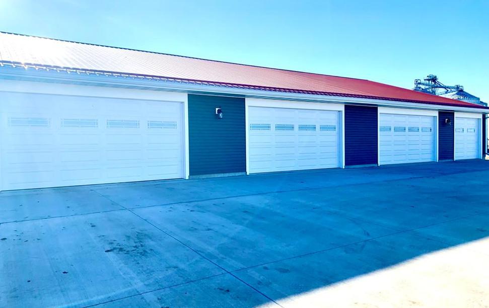 North Garages