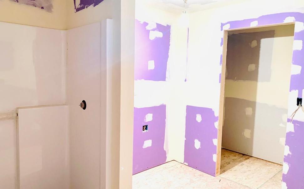 bathroom 1 and closet