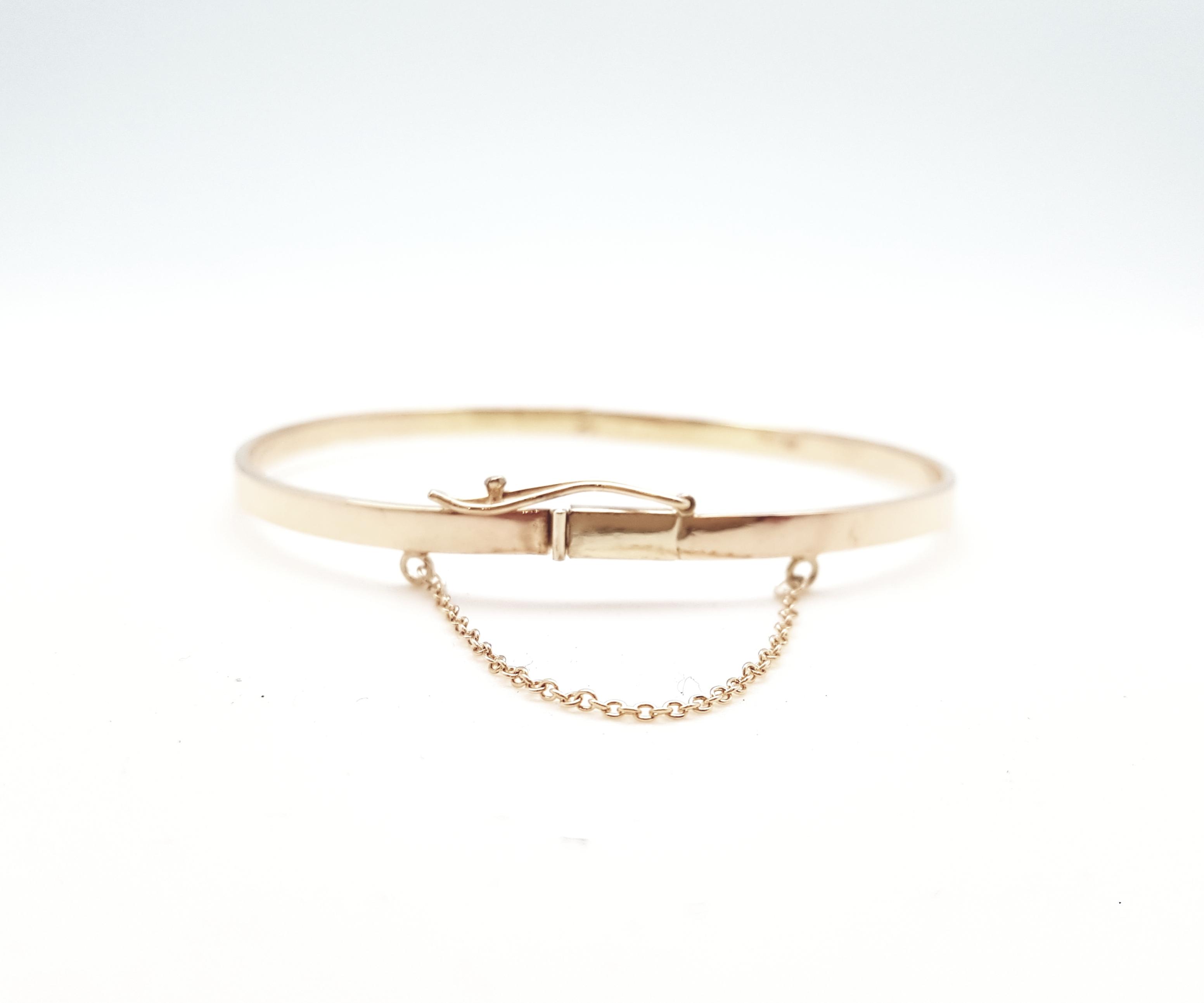 Transformation d'ancien or en bracelet rigide