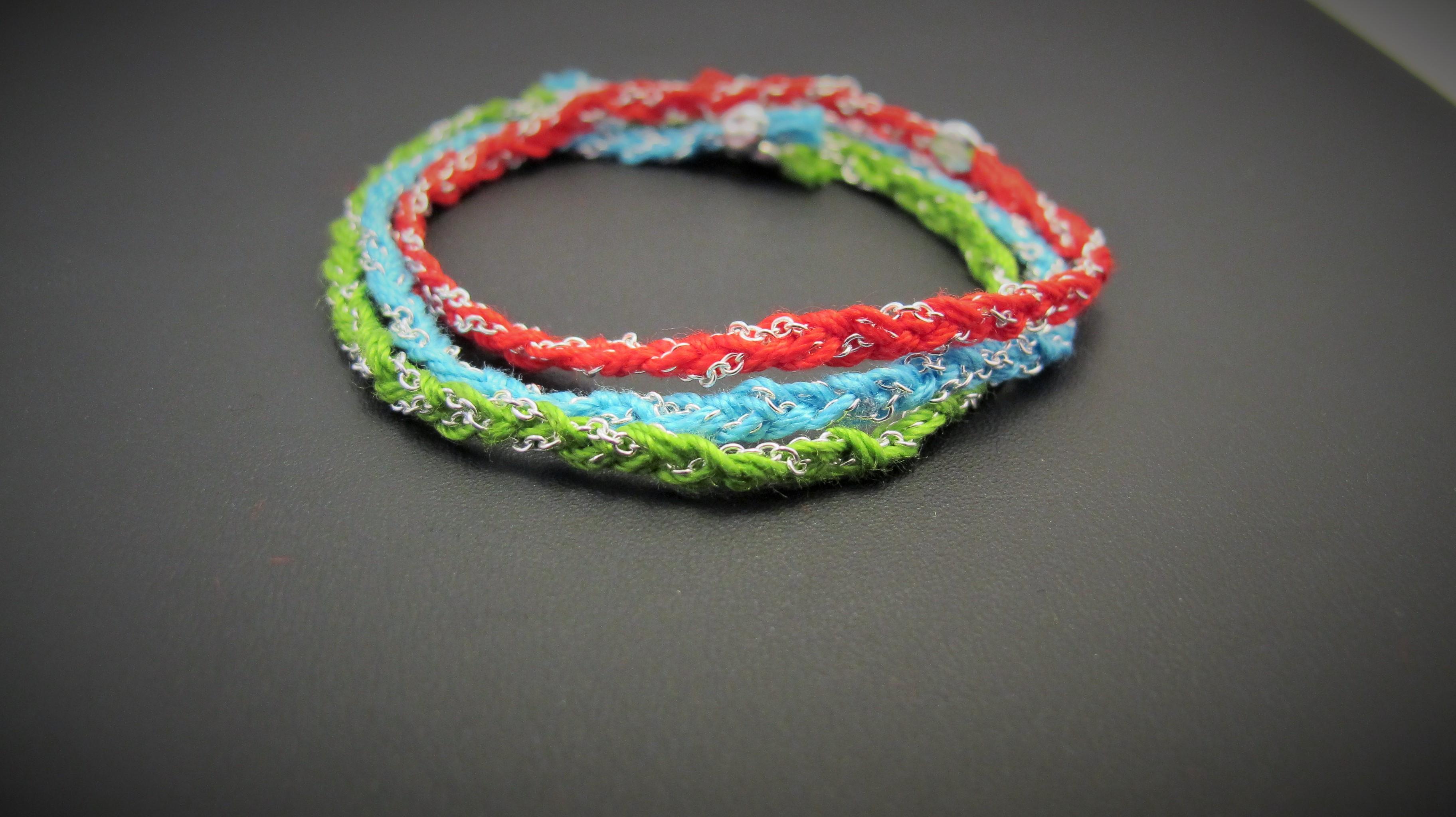 Bracelet-tresse