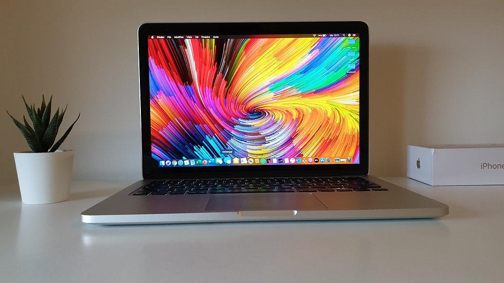 Macbook Pro schermo Retina 13.3'' Processore Intel Core i5 Turbo boost 2.9Ghz
