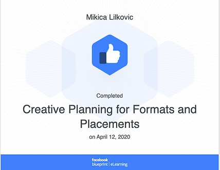Blue Print Creative Planning for Formats