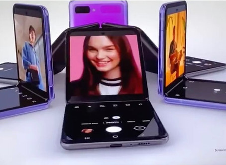 Galaxy Z Flip reinvent the smartphone
