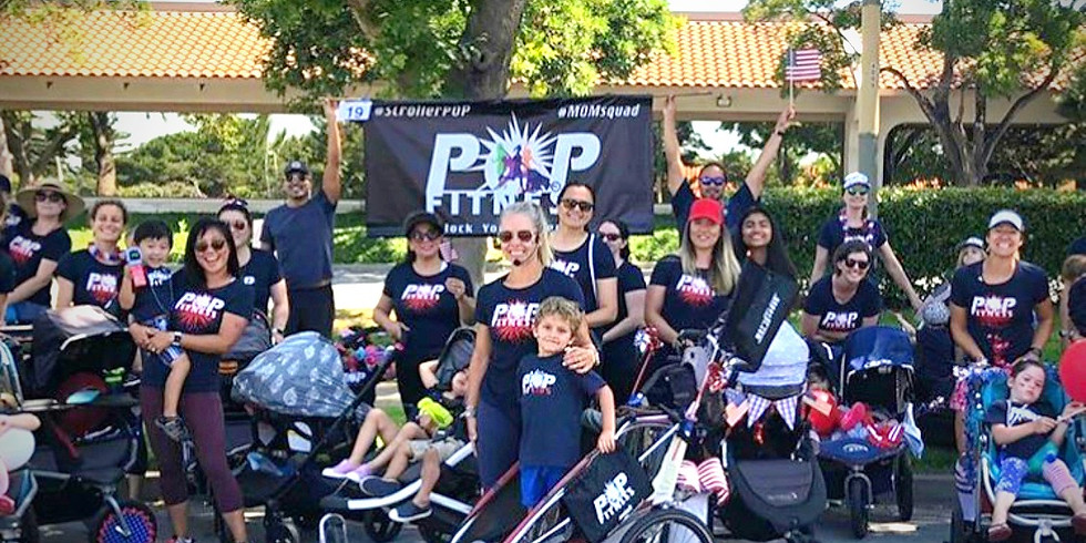 4th of July POP Fitness Freedom for Families!