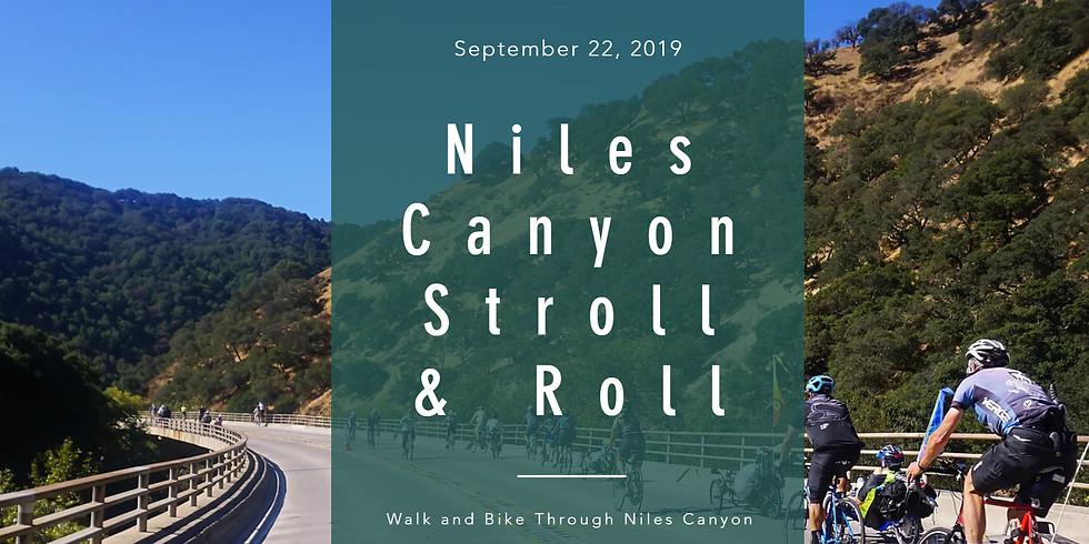 Niles Canyon Stroll - n - Roll!
