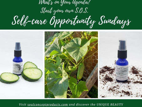 Self-care Opportunity Sundays (or S.O.S.) - Cucumber