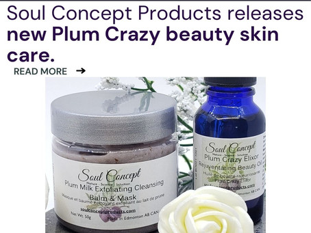 Plum Crazy Beauty Skin Products in time for Feb 14th :Self-Care Day of Love