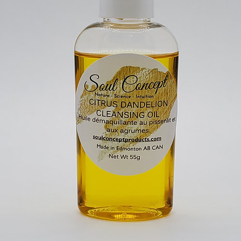 Citrus Dandelion Cleansing Oil