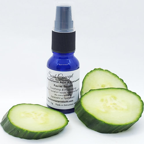 Hyaluronic Acid & Cucumber Facial Serum