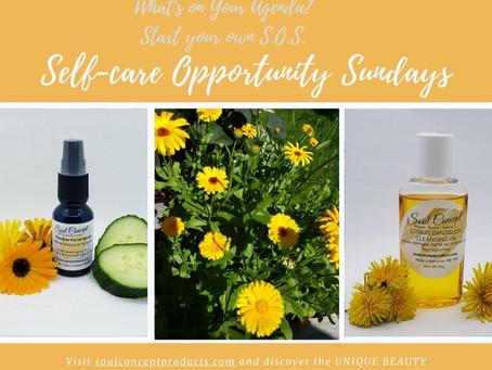 Self-care Opportunity Sunday (S.O.S.) - Calendula