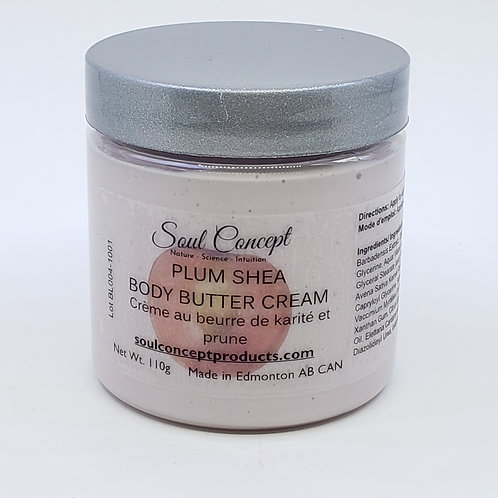 Plum Shea Body Butter Cream