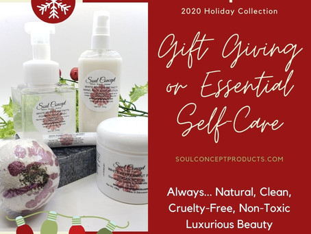 Holiday Collection - Gift Giving & Essential Self-Care