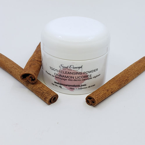 Tooth Cleaning Powder Cinnamon Licorice