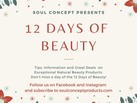 Announcing... 'The 12 Days of BEAUTY'